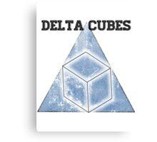 Abed's Delta Cubes Canvas Print