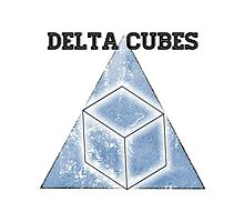 Abed's Delta Cubes Photographic Print