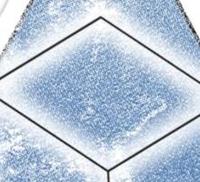 Abed's Delta Cubes Sticker