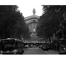 PARIS FRANCE, TRAIN STATION GARE DU NORD OCTOBER 2006 Photographic Print