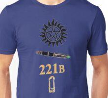 Superwholock minimalist shirt Unisex T-Shirt