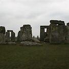 Stonehenge on Cloudy Day Edit by CharlotteTardis