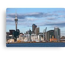 Auckland Waterfront Canvas Print