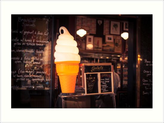 Ice Cream Stand by jamjarphotos
