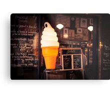 Ice Cream Stand Metal Print