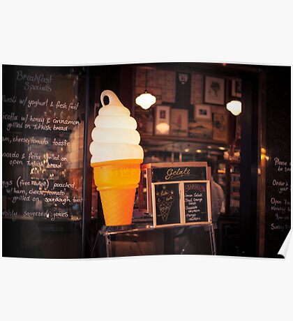 Ice Cream Stand Poster