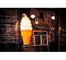 Ice Cream Stand Photographic Print