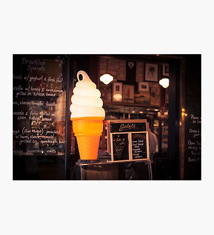 Ice Cream Stand Photographic Print