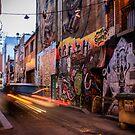 Graffiti Lane by jamjarphotos