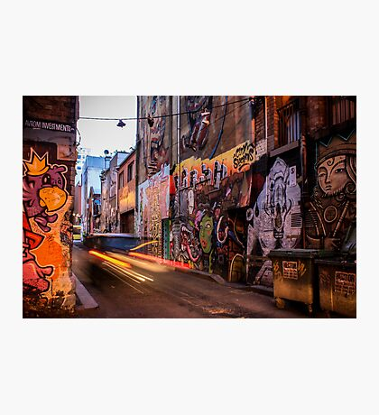 Graffiti Lane Photographic Print