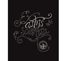 Ex astris scientia. Photographic Print