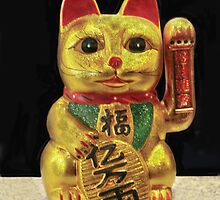 Maneki-neko by heatherfriedman