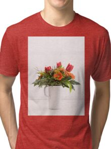 Bouquet of flowers Tri-blend T-Shirt