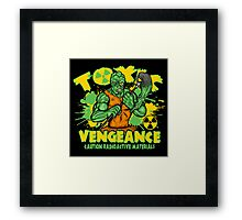 Toxic Vengeance Framed Print