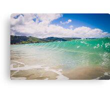 Blue Green Wave in Apollo Bay, Australia Canvas Print