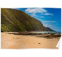 Beach near Lorne on Australia's Great Ocean Road Coast Poster