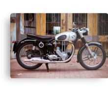 Norton 19S Vintage English Motorcycle Metal Print
