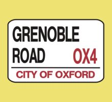 Grenoble Road Street Sign by OxManDesigns