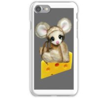 ✿♥‿♥✿LITTLE NIBBLES MOUSE ON CHEESE  IPHONE CASE✿♥‿♥✿  iPhone Case/Skin