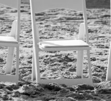 Three Chairs Sticker