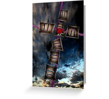Crucifixion of the Soul Greeting Card
