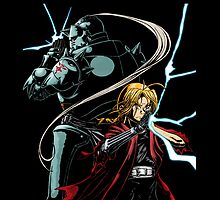 the brothers Elric by ShaunyRedComet
