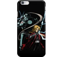 the brothers Elric iPhone Case/Skin