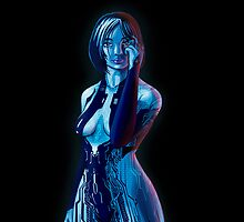 Cortana by ShaunyRedComet