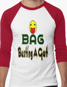 •·♥BAG:Busting A Gut Funny Chatting Acronyms Clothing & Stickers♥·• Men's Baseball ¾ T-Shirt