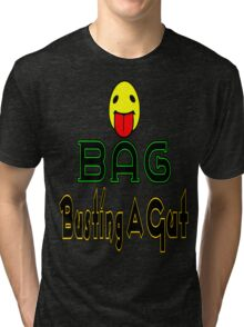 •·♥BAG:Busting A Gut Funny Chatting Acronyms Clothing & Stickers♥·• Tri-blend T-Shirt