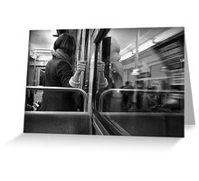 Metro Connection Greeting Card