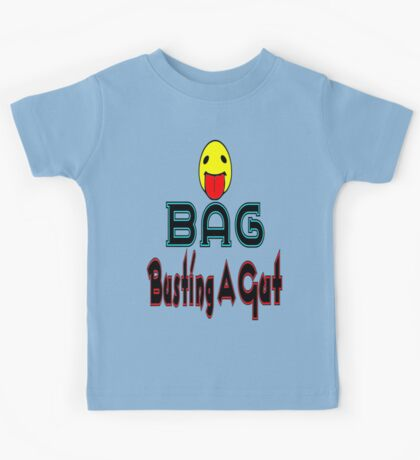 •·♥BAG:Busting A Gut Funny Chatting Acronyms Clothing & Stickers♥·• Kids Tee