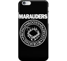 The Marauders Map Harry Potter Logo Parody iPhone Case/Skin
