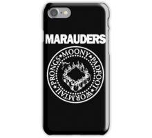 The Marauders Map Harry Potter Logo Parody iPhone Case/Skin