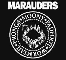 The Marauders Map Harry Potter Logo Parody One Piece - Short Sleeve