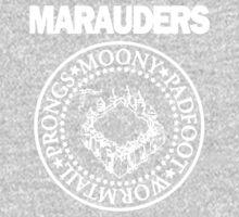 The Marauders Map Harry Potter Logo Parody One Piece - Long Sleeve