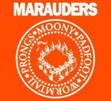 The Marauders Map Harry Potter Logo Parody Kids Tee