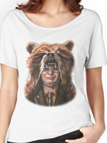 Bear Schrute Women's Relaxed Fit T-Shirt