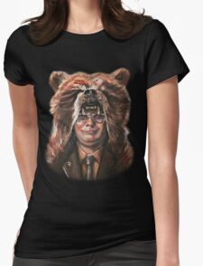 Bear Schrute Womens Fitted T-Shirt