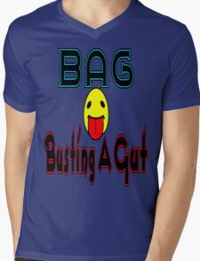 •·♥BAG:Busting A Gut Funny Chatting Acronyms Clothing & Stickers♥·• Mens V-Neck T-Shirt