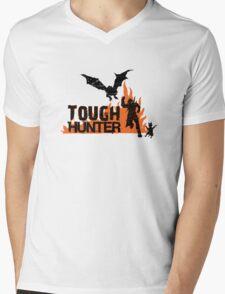 Tough Hunter Mens V-Neck T-Shirt