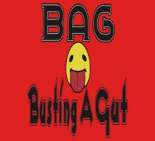 •·♥BAG:Busting A Gut Funny Chatting Acronyms Clothing & Stickers♥·• One Piece - Short Sleeve