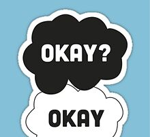 "The Fault in Our Stars ""Okay"" case by Marcel Putrus"