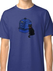 Kitty Who and the T.A.R.D.I.S Classic T-Shirt