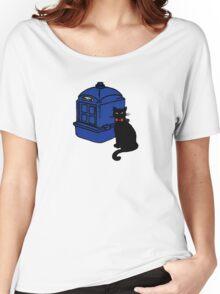 Kitty Who and the T.A.R.D.I.S Women's Relaxed Fit T-Shirt