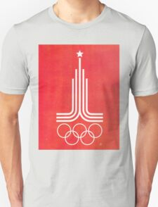 Moscow 1980 v2 T-Shirt