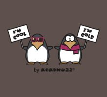 I am cool, I am cold (Two penguins) Kids Clothes