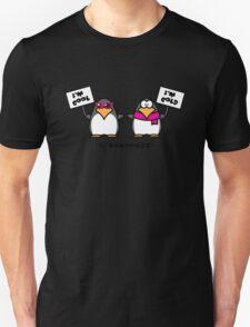 I am cool, I am cold (Two penguins) Unisex T-Shirt