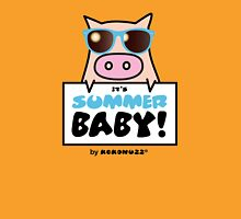 It's Summer Baby! - Cool KINO the pig Unisex T-Shirt