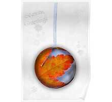 Maple Bauble Poster